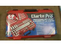 Clarke Pro Socket and Spanner Set