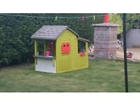 SMOBY FLORALIE OUTDOOR PLAYHOUSE