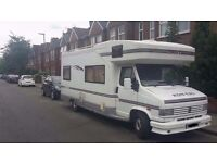 Talbot Express motorhome 645 1991 new shape