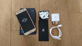 Gold Samsung S7 32GB (Tesco/O2)