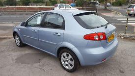 2009 CHEVRLET LICCET SX 1.6 PETROL TOP CAR ONLY 51K MILEAGE 12 M MOT 3 MONTHS NATIOWIDE WARRANTY