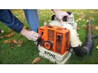 STIHL 430 heavy duty professional garden blower & manuals Etx Powerful and starts straight away -