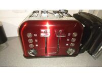 Morphy Richard toaster & bread bin