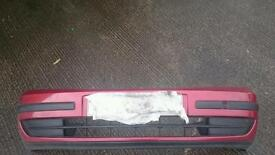 Renault laguna mk 2 front and rear bumper red