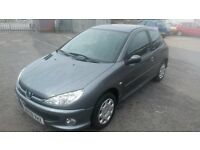 PEUGEOT 206 2009 1.4L 'look' FULL service history, cambelt changed on 06/07/2016 *3 month warranty