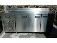 Foster pizza topping counter fridge 3 door with warranty