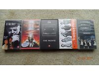 5 VHS Tapes