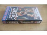 Warrior Queen & Deathstalker III The Warriors From Hell - VHS - Double Feature