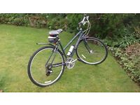 """Ridgeback Velocity bicycle for sale. 21"""" Ladies/Unisex 21 gears in excellent condition."""