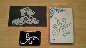 Cutting dies for card making inc Sizzix and Tonic studios