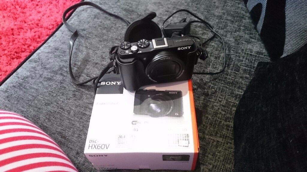 Sony cybershot camera 3 months old immacukate bought from currys for 280 comes with. Leather case