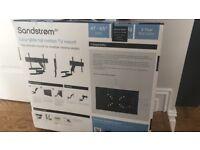 Sandstrom SFMGL15 full motion TV wall bracket £50 RRP £100
