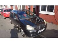 Renault Clio Extreme 2 16V 3 Door Hatchback Black 12 Months MOT