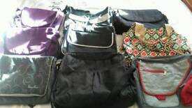Pram, pushchair, stroller baby changing bags