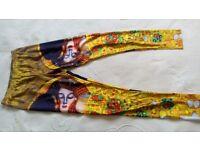 Klimt pattern leggings yoga gym
