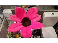 Blooming bath flower