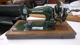 Vintage Gritzen derlach sewing machine sold as seen