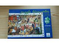 Various children's puzzles