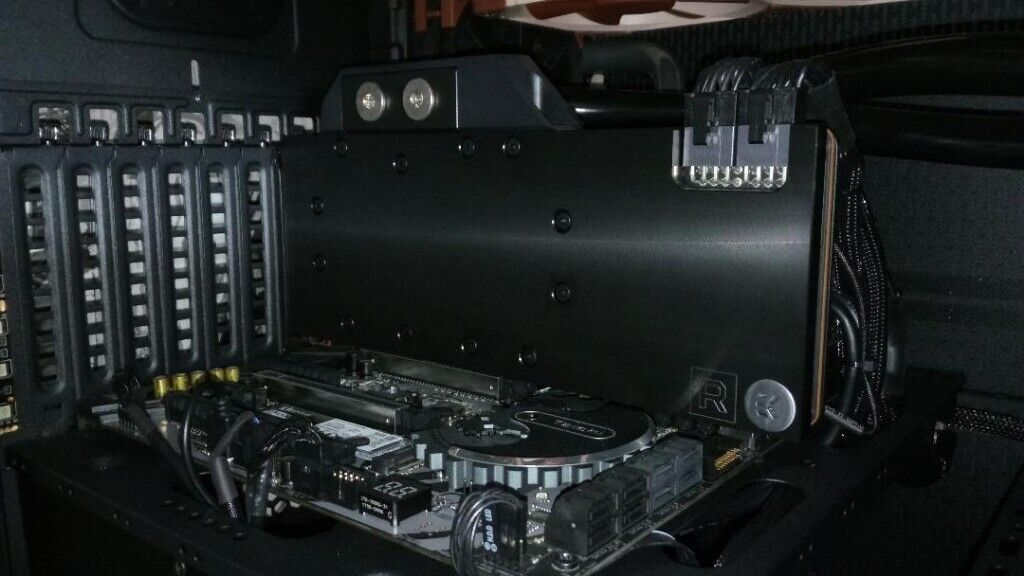 AMD Vega 64 with Ekwb Water Block, with or without reference cooler  | in  St Austell, Cornwall | Gumtree