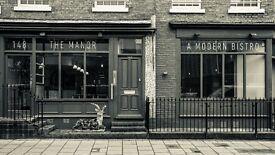 Kitchen Porter - The Manor, Clapham