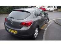 2011 VAUXHALL ASTRA SRI 1.6 AUTO AUTOMATIC (not FIESTA, FOCUS, GOLF, MICRA, POLO, CLIO, YARIS)