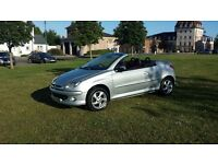Peugeot 206 cc great little fun car perfect for the summer