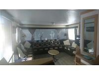 Luxury 8 berth caravan, Robin Hood Camp, Rhyl, Nort Wales