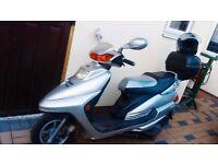125cc scooter for sale £750 ono free helmet 1 yr mot - london