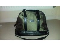Versace Parfums weekend holdall/travel bag/sport bag khaki colour. New. £20