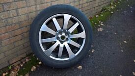 Land Rover Freelander 2 HST alloy spare wheel with tyre
