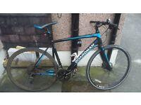 Boardman Team Hybrid Bike.