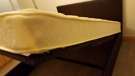 REDUCED Further! Storage Bed Ottoman Double 4ft 6in Hardly used. Looks, Feels New. Must be Sold soon