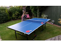 As new folding table tennis table