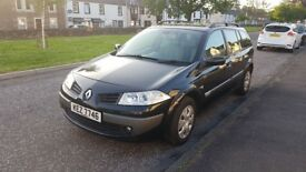 Renault Megane Estate for sale, Full year MOT