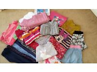 Girl's Autumn/Winter Clothes Bundle 2-3 Years