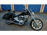Honda VT1300CX Fury fully equipped and customised