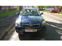 toyota avensis diesel 2008 10 months mot