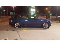 2003 (53) BMW 3 SERIES E46 318i SE 2.0L PETROL MANUAL TOURING ESTATE MOT JUL 2017 HPI CLEAR 2 KEYS