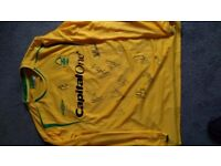 Nottingham Forrest Signed Football Shirt