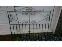 Pair of steel gates
