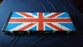 Electric guitar flight hard case
