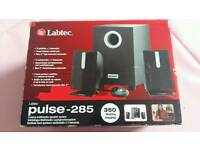 Labtec 350 watt Pc speaker with subwoofer