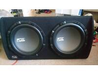 2000 watts sub with built in amp
