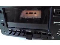 Vintage RETRO ANTIQUE NATIONAL PANASONIC DECK 612 STEREO CASSETTE TAPE PLAYER (Dolby system)