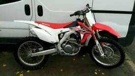 Honda crf 450 low hours