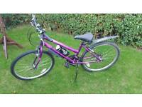 Mountain bike ladies/girls 15 speed plus accessories