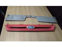 Ford escort mk5 grill and sun visors