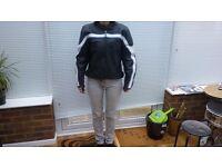 lady's genuine triumph motorbike jacket size 10/12