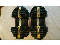 Weights 80kg dumbbells adjustable dumb bells not bowflex