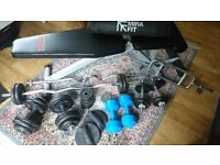York Bench, Weights and Bars for Sale
